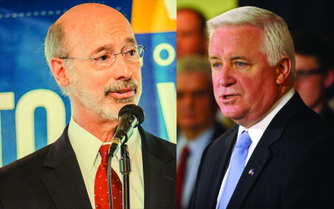 Welcome Back: Pennsylvania's Governor's race: Tom Wolf or Tom Corbett?