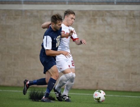 Men's soccer must play without defender at Louisville