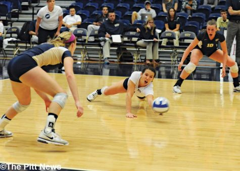 Volleyball team reflects on weekend