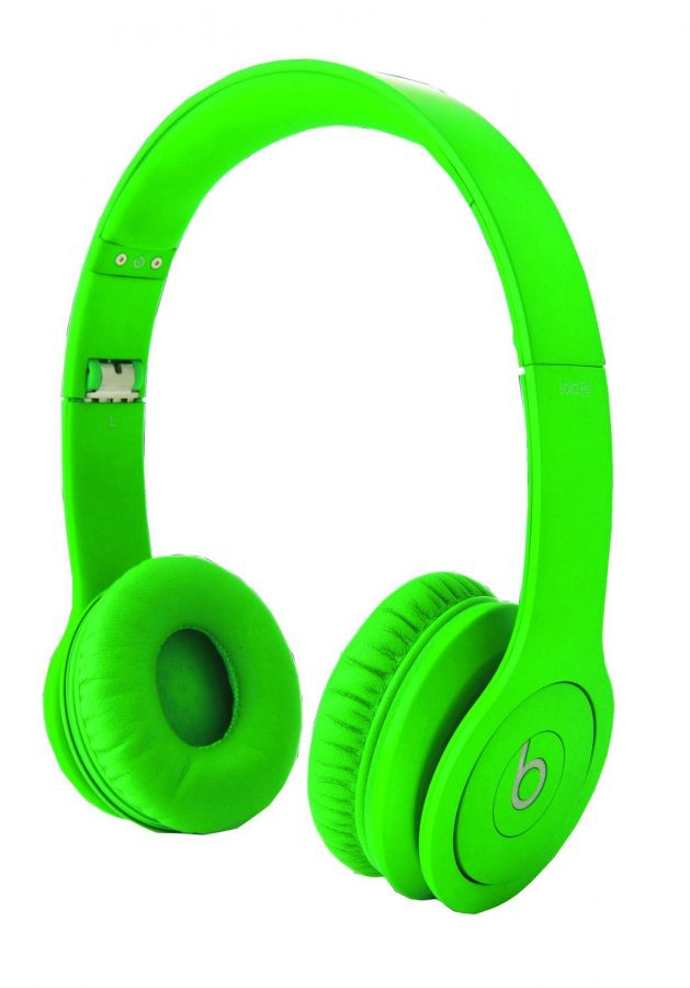 A pair of Beats headphones