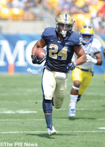 Pitt ground game to collide with stout Iowa run defense