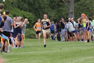 Lone senior runner improves team, self in new season