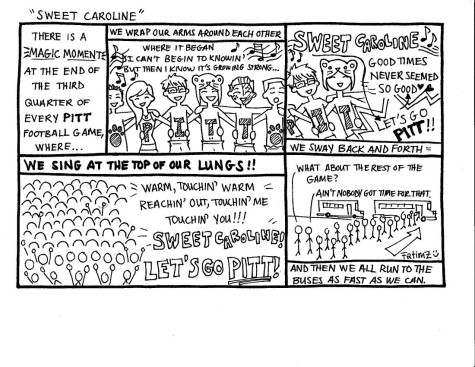 Homecoming Edition Cartoon: Sweet Caroline