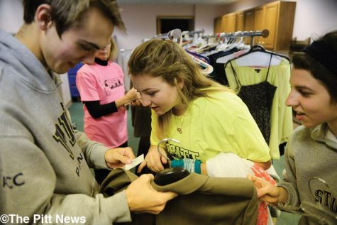 Students partake in the annual Pitt Make a Difference Day