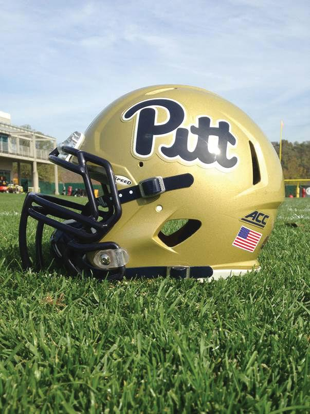 Pitt script helmets
