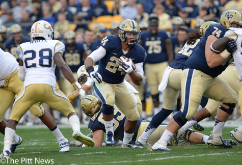 Gallery:  Pitt Football vs. Georgia Tech