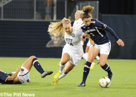 Streaking Panthers stumble, fall to rival Fighting Irish 2-0