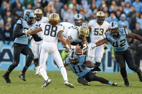 Defense falters in second half in loss at UNC