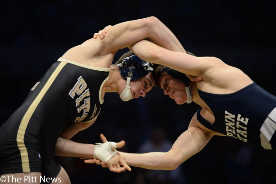 Penn+State+doubles+up+Pitt+in+marquee+wrestling+matchup