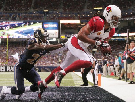 Pitt in the NFL: Larry Fitzgerald climbs in record books