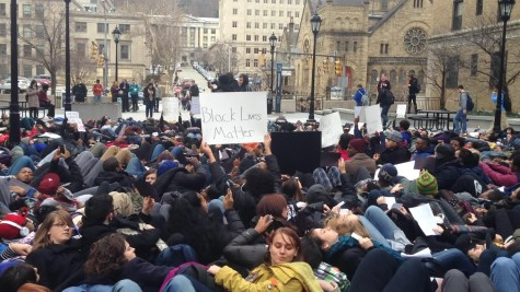 Die-in protest