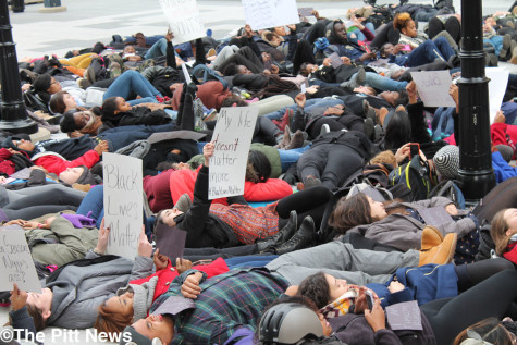 Gallery:  Die-in Protest at Litchfield Towers