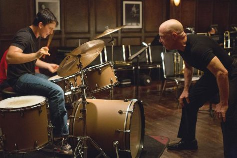 Villainous Simmons brings thriller-like urgency to 'Whiplash'