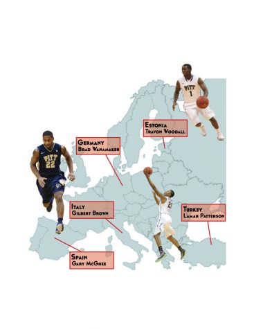 Former Panther basketball players continuing careers in various countries