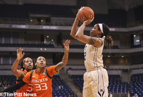 All about the 'W': Welch scores 12 points off bench as Pitt handles Miami