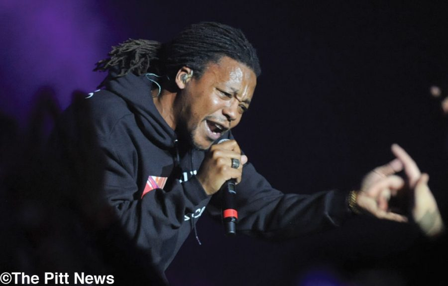 Lupe Fiasco preached, brought the hits to Pitt