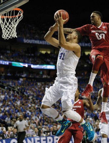 Top-seeded Kentucky faces strongest region in NCAA Tournament