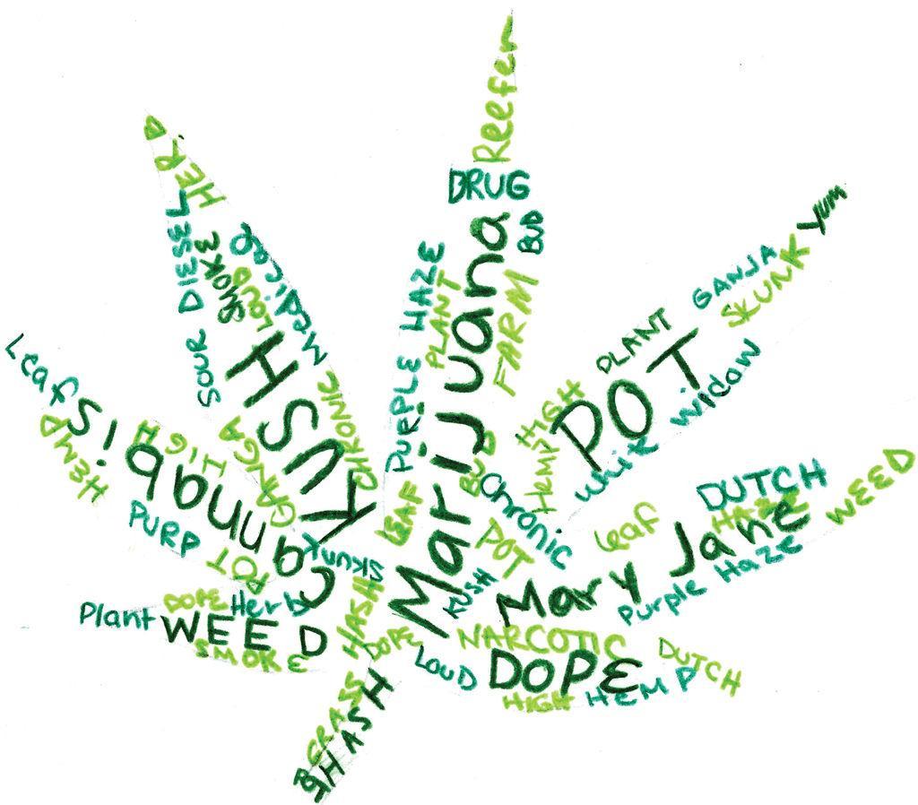 Varied marijuana slang terms - The Pitt News