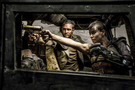 Max and Furiosa on Fury Road