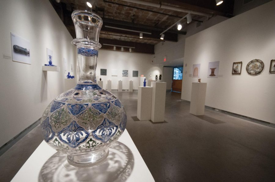 Glass studio, museum jump into fire with collaborative exhibit