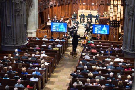 With fanfare, Heinz Memorial Chapel reopens