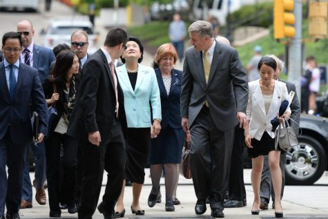 In 'gesture of friendship,' China Vice Premier visits Pitt