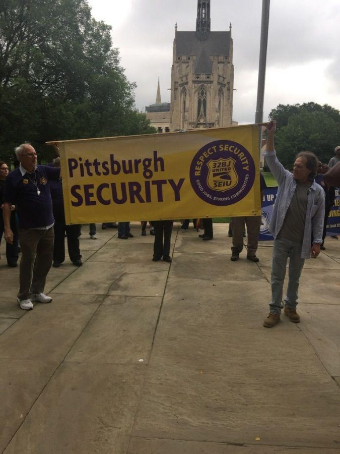 Security Guards Rally For Higher Wages Better Benefits