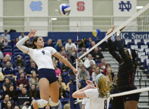 Pitt volleyball's strong schedule, conference paves tough road to tournament