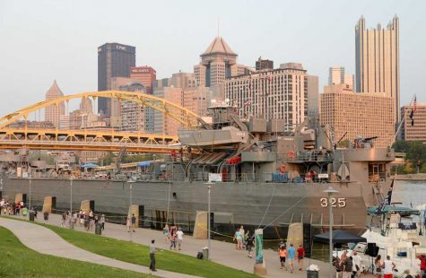 USS LST 325 Visits Pittsburgh