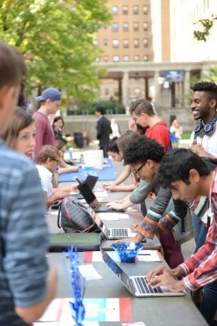 Signed, sealed, registered: Pitt students register to vote online