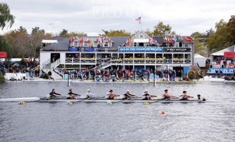Cheers: Pitt Rowing christens new boat