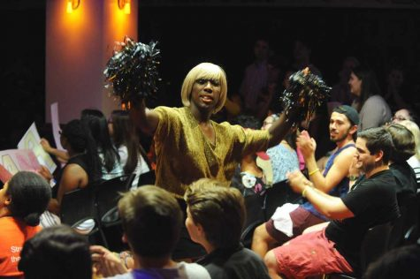 Wigging out: student drag show bends gender norms