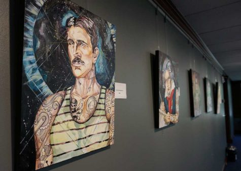 Union ink: gallery portrays iconic characters with tattoos