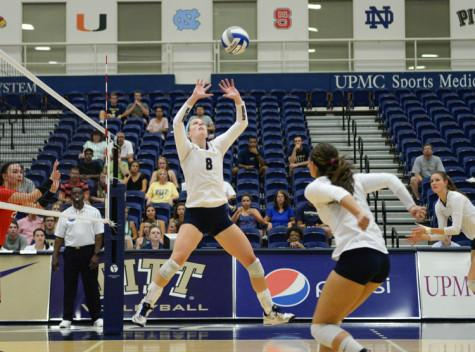 Pitt volleyball focusing internally in advance of Panther Invitational