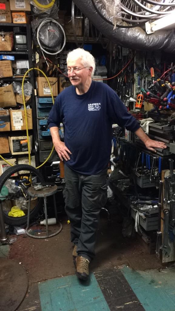 Jerry Kraynick has operated his bike shop since 1976.  Jack Shelly  | Staff Writer