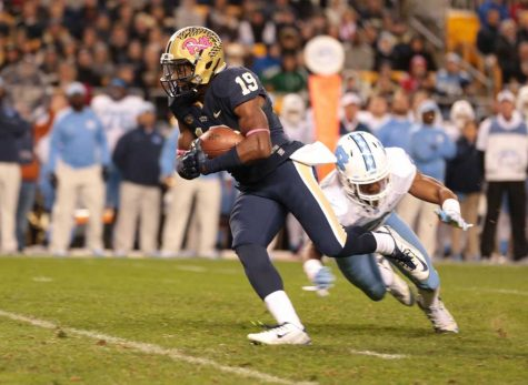 No. 23 Pitt cannot complete second-half comeback in 26-19 loss to UNC
