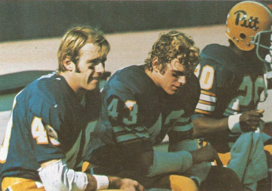 The football team will wear the classic Pitt uniforms in its homecoming game against Georgia Tech on Saturday. Courtesy Pitt Archives