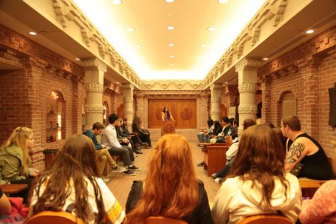 Nationality Rooms: Tours of Terror