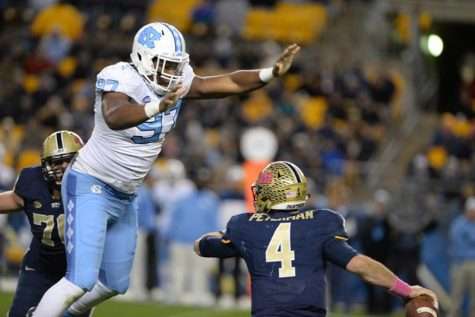 Tar Heeled: UNC's Williams runs wild on No. 23 Panthers in 26-19 loss