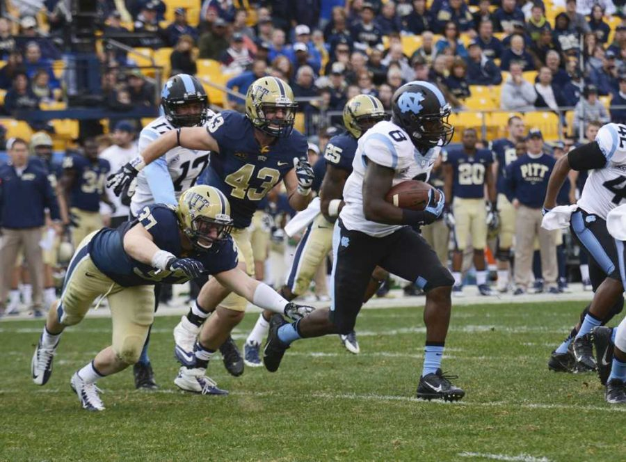 Pitt looks for their first win against UNC as a member of the ACC Pitt News File Photo