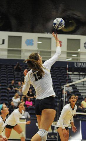 Kadi Kullerkann is an essential part of the Pitt volleyball team.  Heather Tennant | Staff Photographer