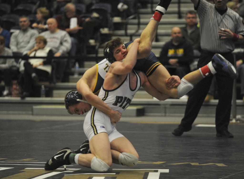Dom Forys will serve as a leader for Pitt wrestling  Pitt News File Photo