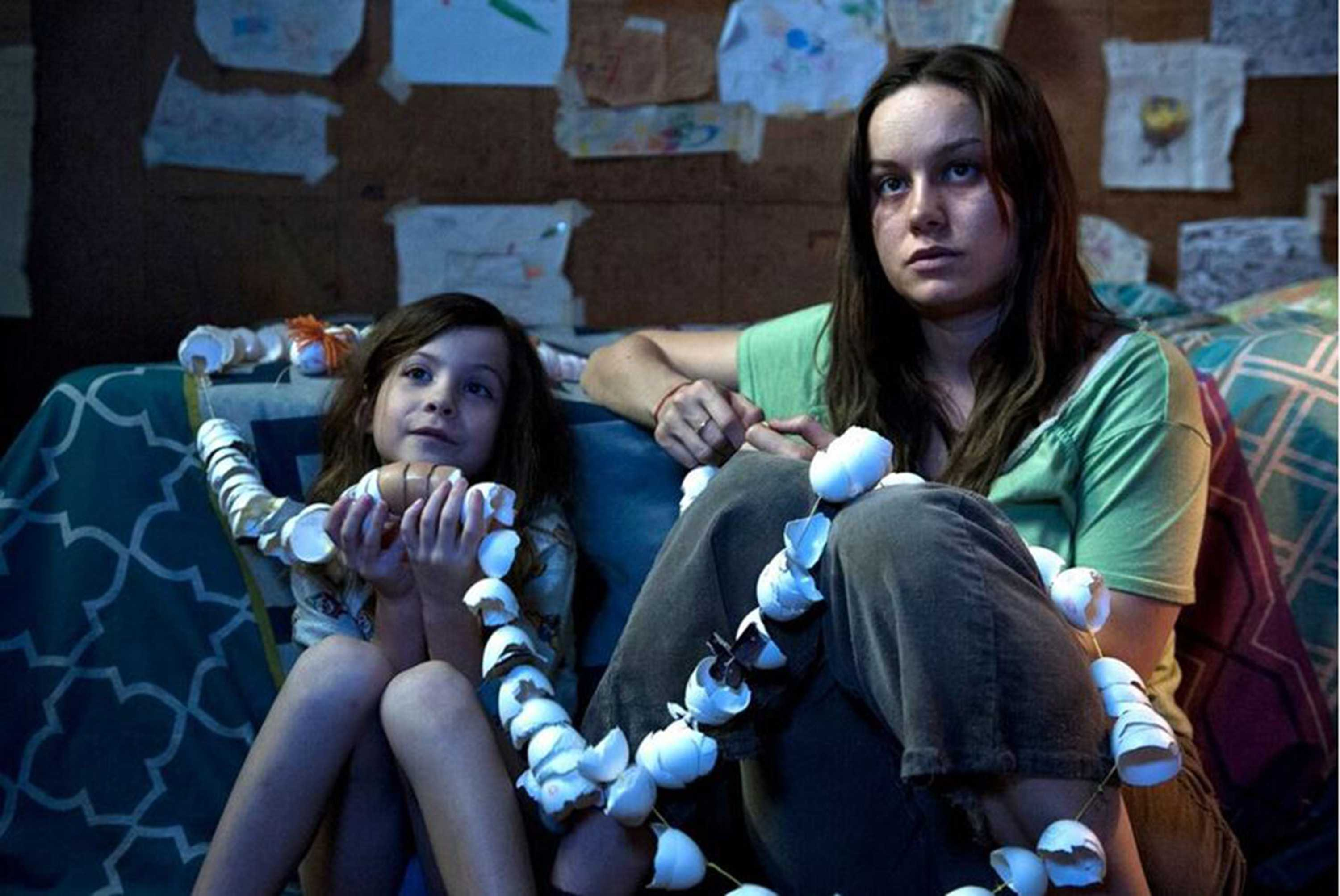 Brie Larson and Jacob Tremblay star in
