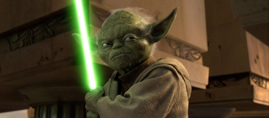 Yoda VIA LUCASFILMS