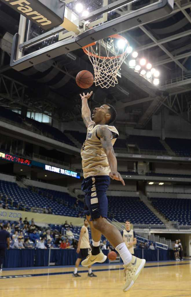 Sterling Smith is one of Pitt's three graduate transfers this year.  Wenhao Wu | Staff Photographer