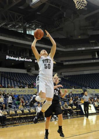 Brenna Wise goes for a layup against IUP.  Jeff Ahearn | Assistant Visual Editor