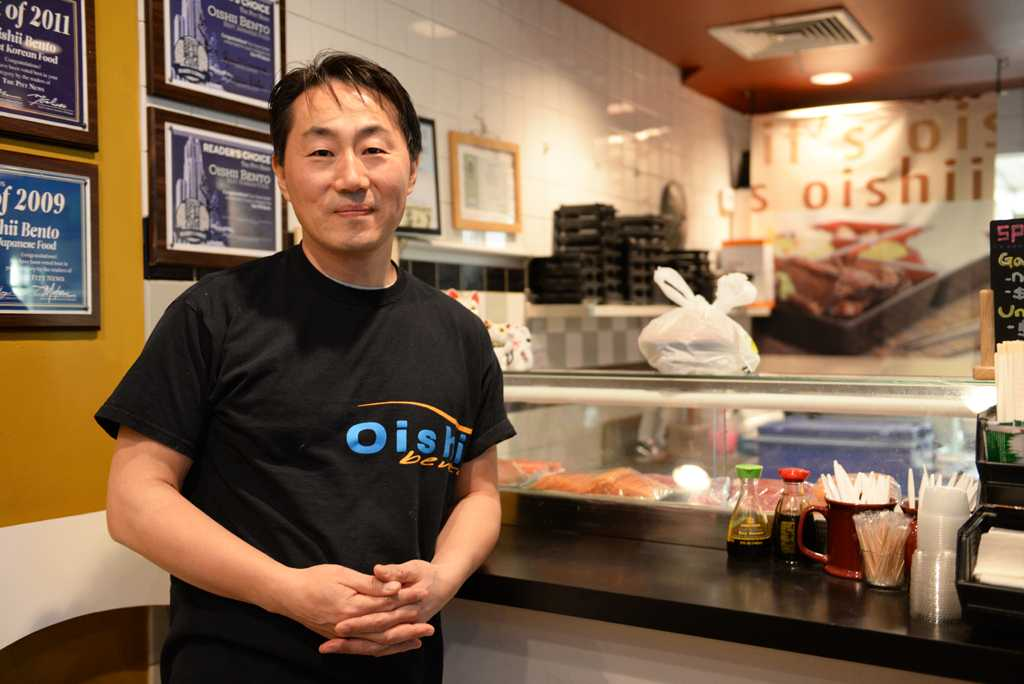 Si Hyuk Choi, owner of Oishii and Chick'n Bubbly, has served Asian cuisine on Oakland Ave. for 10 years. Nikki Moriello | Visual Editor