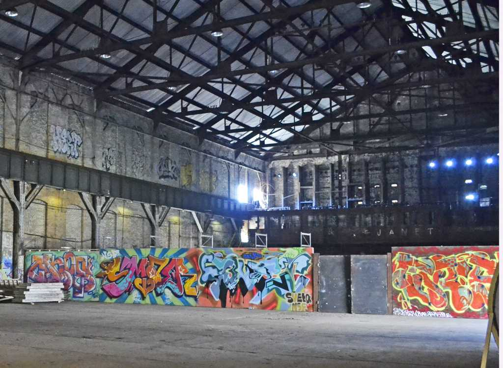 Carrie Furnace is a local hot spot for local graffiti.  Elaina Zachos | Staff Writer