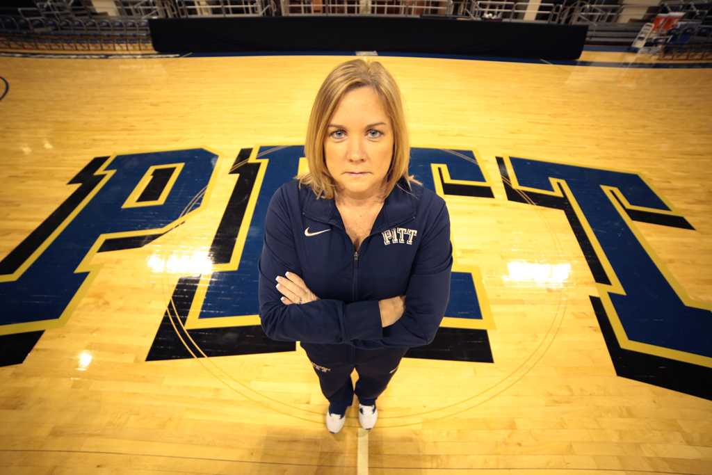 Pitt women's basketball head coach Suzie McConnell-Serio and the Panthers will face their first ACC opponent, Miami, on Monday, Jan. 2 at 7 p.m.