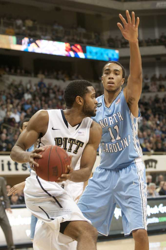 The University of North Carolina men's basketball team will be one of Pitt's toughest opponents this season. Pitt News File Photo